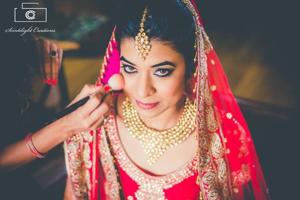 Bride-To-Be Donning a Bold Eye Makeup by Gracian Wedding-photography Bridal-makeup | Weddings Photos & Ideas