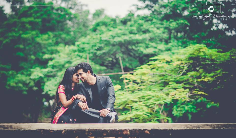 Bride and Groom To-Be Against a Forest Backdrop by Gracian Wedding-photography | Weddings Photos & Ideas