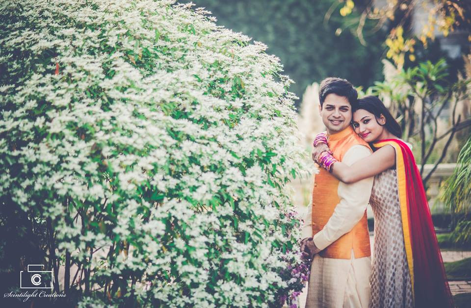 Groom-To-Be Wearing Orange Waistcoat by Gracian Wedding-photography | Weddings Photos & Ideas