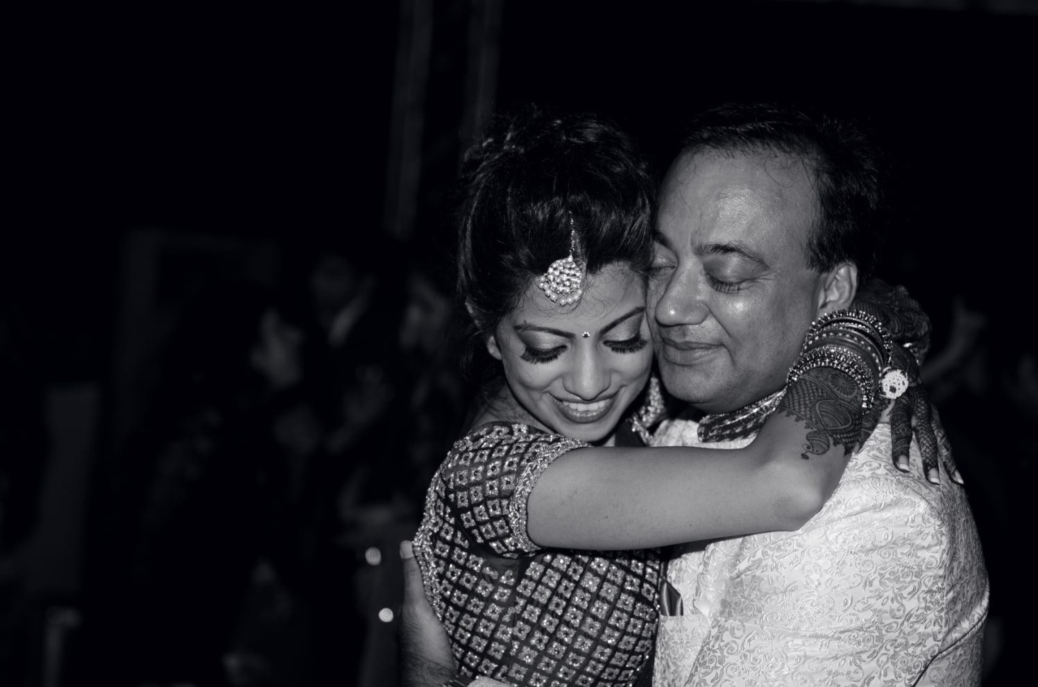 Bride and her Father During Her Reception by Conscious Cinematic Arts Wedding-photography | Weddings Photos & Ideas