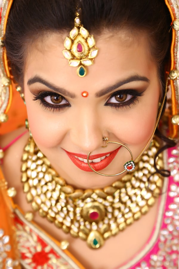 Bold Bridal Make-Up Look by navin photography Bridal-makeup | Weddings Photos & Ideas