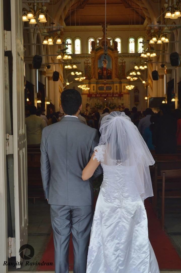 Perfect Christian Wedding Frame by Ranjith R Ravindran Wedding-photography | Weddings Photos & Ideas