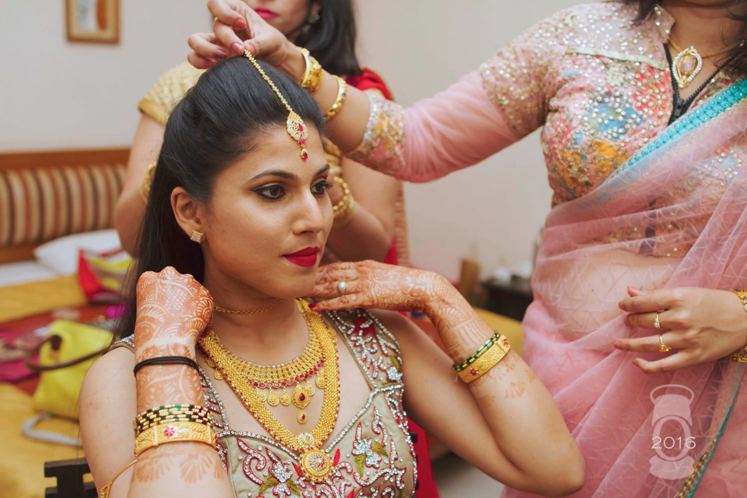 Bride-To-Be Wearing Exquisite Gold Jewelry by Obscur Photography Wedding-photography | Weddings Photos & Ideas