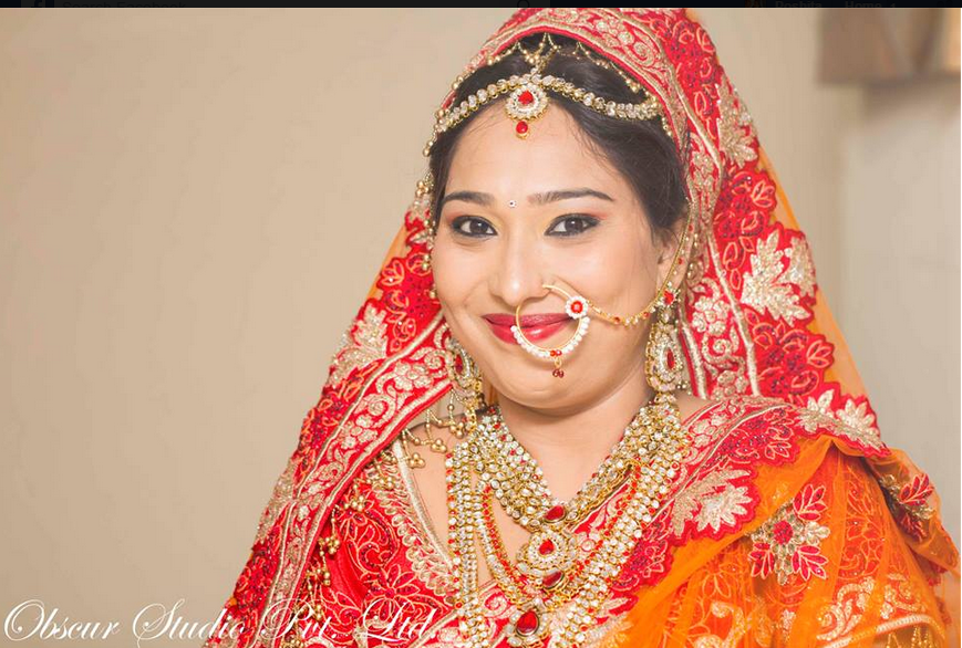 Bride Wearing Beautiful Gold Jewelry by Obscur Photography Wedding-photography | Weddings Photos & Ideas