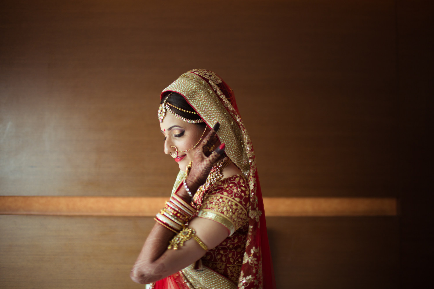 Poised bride by Ashraff Shariff Photography(AsharClicks) Wedding-photography | Weddings Photos & Ideas