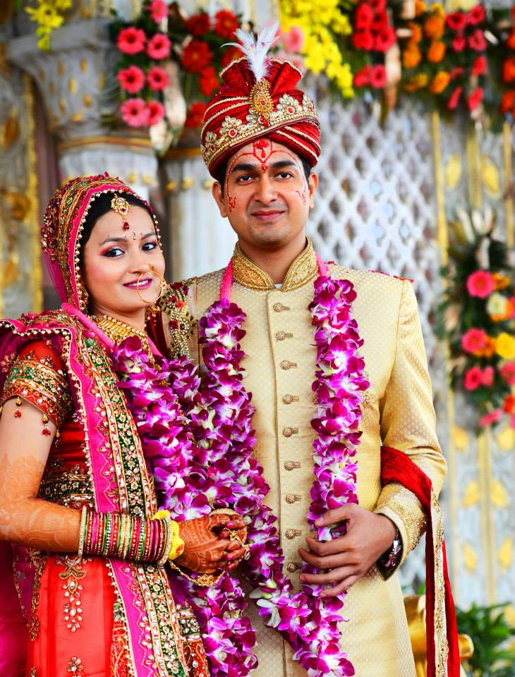 Graceful Bride and Groom In Traditional Attire by Nitin Tanwar Wedding-photography | Weddings Photos & Ideas