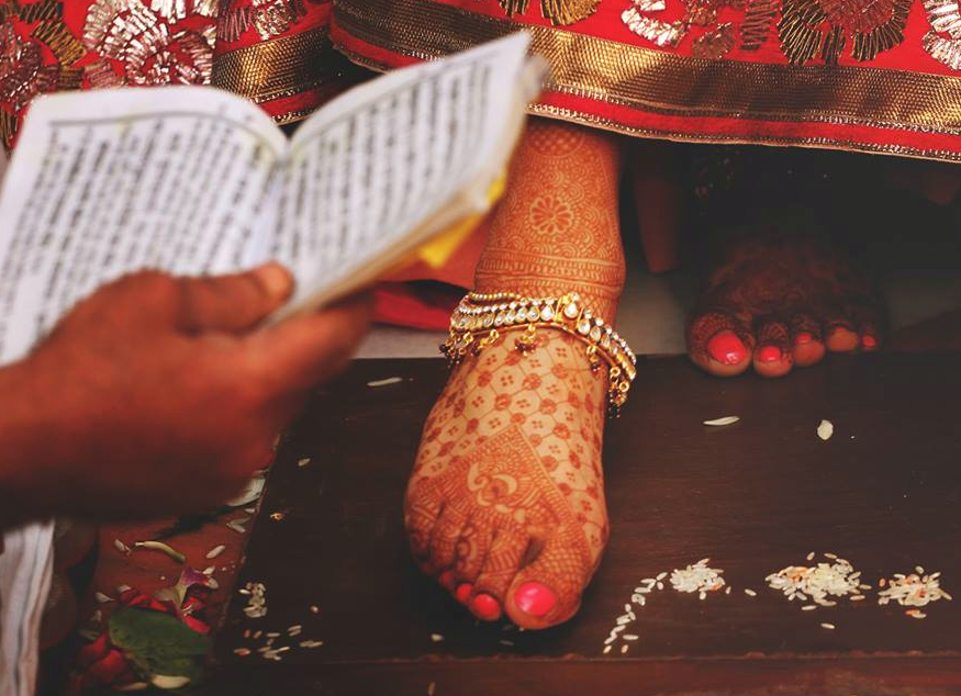 Gorgeous Feet Mehendi and Polki Anklet by Sagar Thackar Wedding-photography | Weddings Photos & Ideas