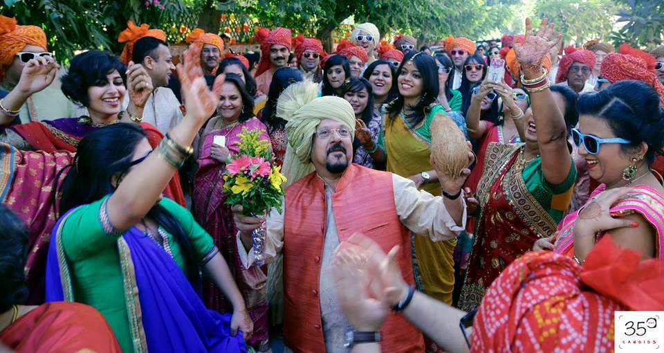 Baraatis Dancing To Their Heart's Content by Sagar Thackar Wedding-photography | Weddings Photos & Ideas
