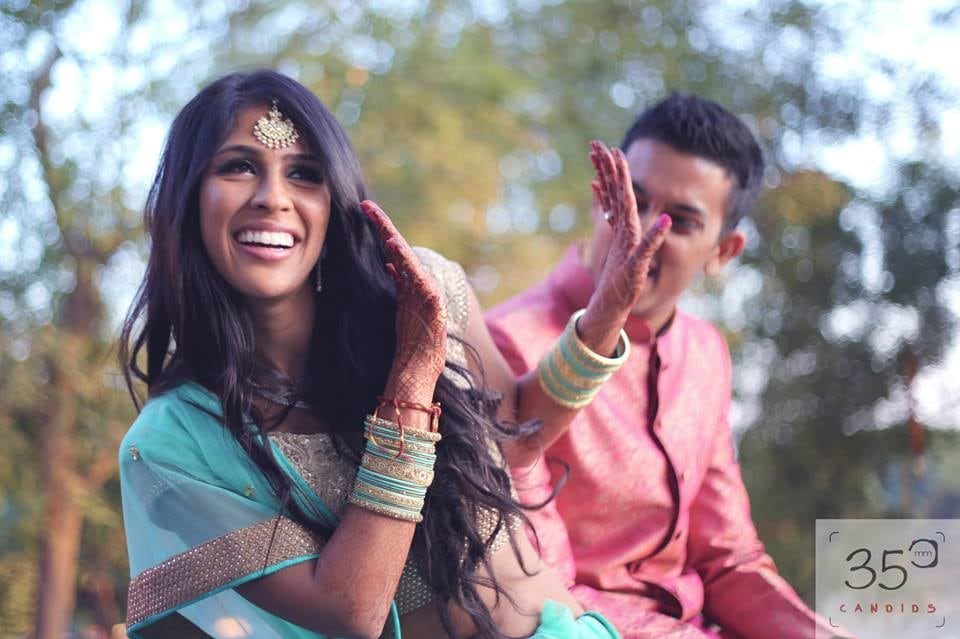 Vibrant and Jovial Bride and Groom To-Be by Sagar Thackar Wedding-photography | Weddings Photos & Ideas