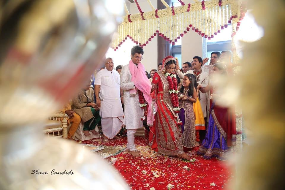 Bride and Groom Taking Pheras by Sagar Thackar Wedding-photography | Weddings Photos & Ideas