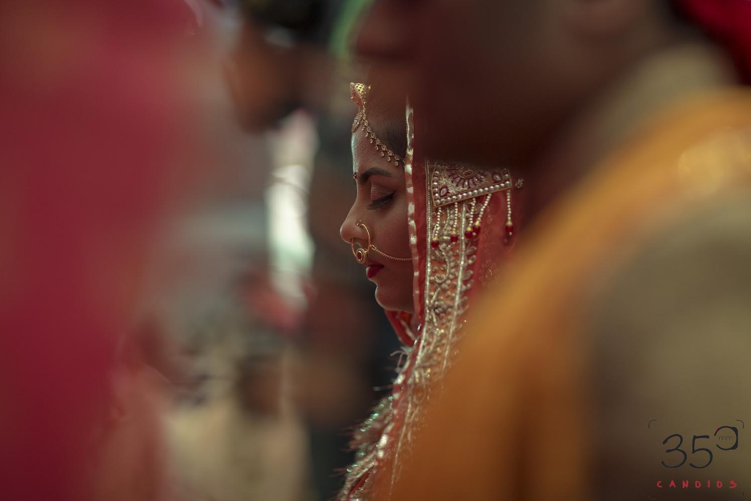 Bride In a Candid Moment During Her Wedding by Sagar Thackar Wedding-photography | Weddings Photos & Ideas