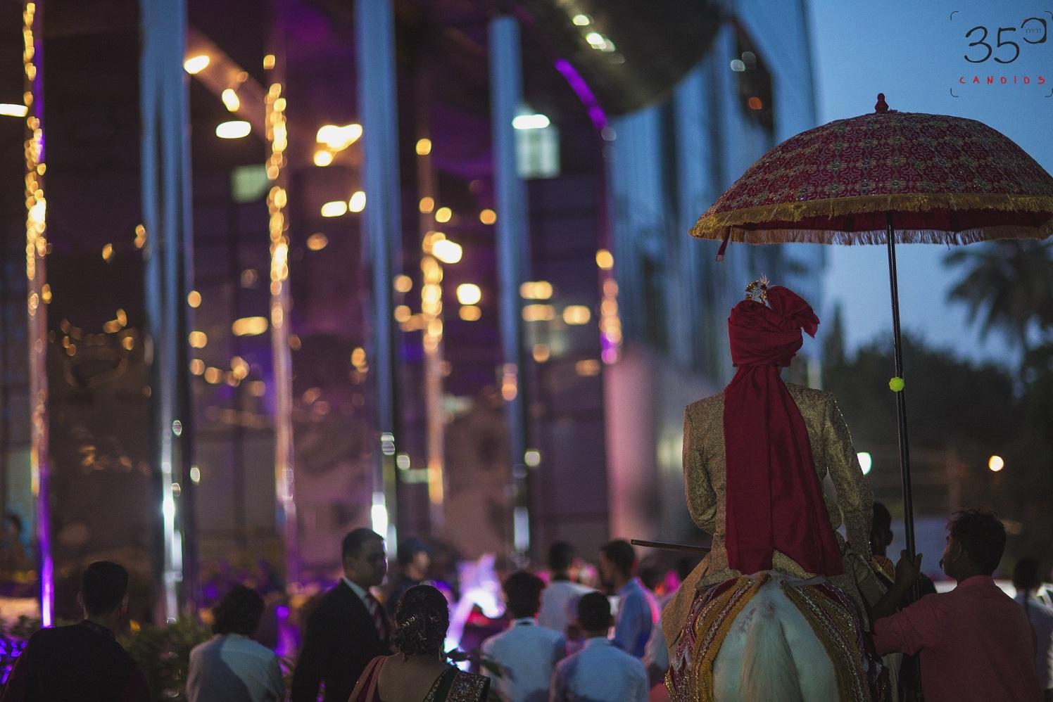 Magnificent Entry of The Groom by Sagar Thackar Wedding-photography | Weddings Photos & Ideas