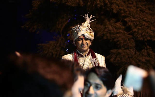 Happy Groom Arriving For His Wedding by Kshitij Gupta Wedding-photography | Weddings Photos & Ideas