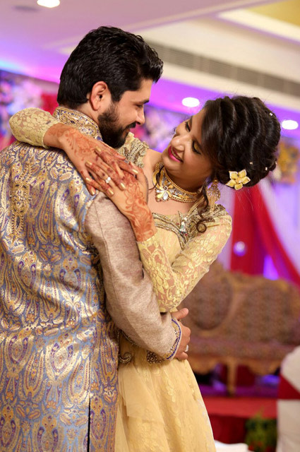 Bride and Groom in a Jovial Mood During Engagement by Kshitij Gupta Wedding-photography | Weddings Photos & Ideas