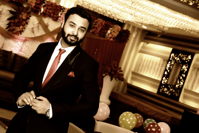 Groom Looking Dapper ON His Reception by Kshitij Gupta Wedding-photography | Weddings Photos & Ideas