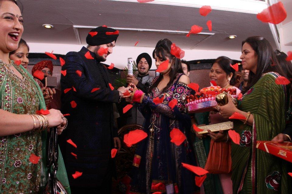 Elegant Punjabi Couple During Roka by Nishtha Kumar Wedding-photography | Weddings Photos & Ideas