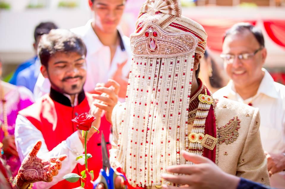Groom Wearing Beautiful Sehra by Bharath Venkatesh Wedding-photography Groom-wear-and-accessories | Weddings Photos & Ideas