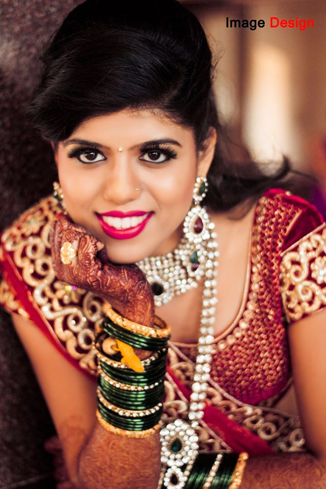 Marathi Bride Wearing Bold Eye Makeup by Vishal Wedding-photography | Weddings Photos & Ideas