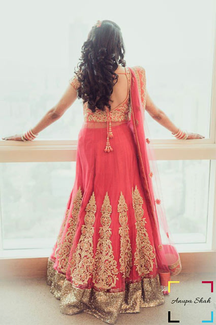 Beautiful Soft Curls For Long Hair! by Anupa Shah Wedding-photography Wedding-hairstyles Wedding-dresses | Weddings Photos & Ideas