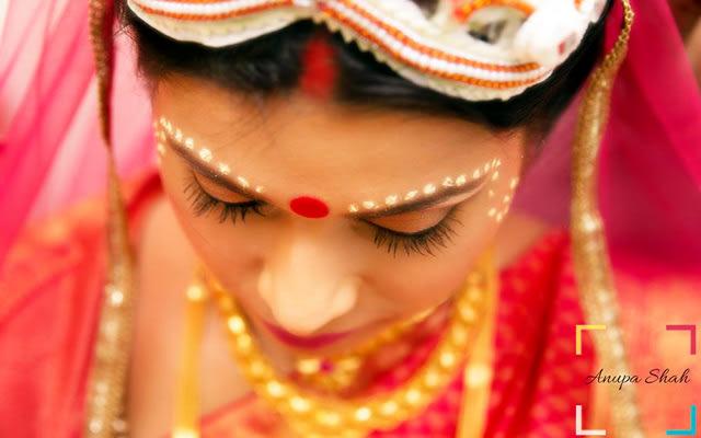 Stunning Bengali Bride! by Anupa Shah Wedding-photography | Weddings Photos & Ideas