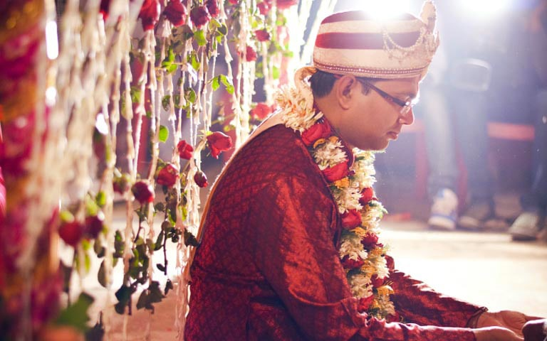 Groom On His Special Day! by Sharad Shiromani Wedding-photography Groom-wear-and-accessories | Weddings Photos & Ideas
