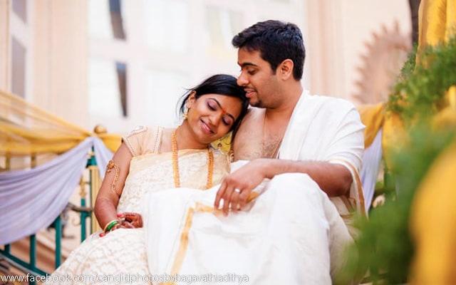 Couple Portrait On Wedding Day by Bagavathi Wedding-photography | Weddings Photos & Ideas