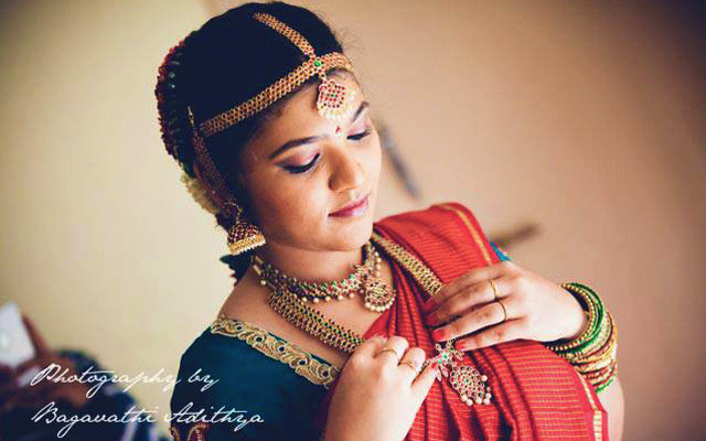 Bride Getting Ready For Her Special Day by Bagavathi Bridal-jewellery-and-accessories | Weddings Photos & Ideas