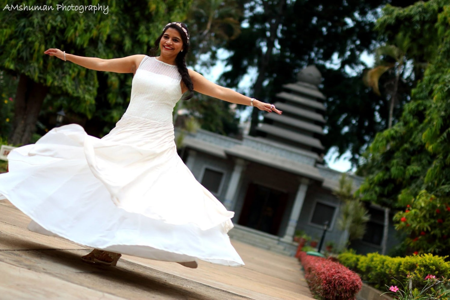 Twirling Bride Shot! by Amshuman Wedding-photography Wedding-dresses | Weddings Photos & Ideas