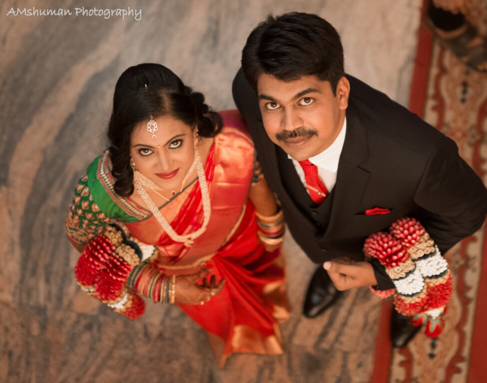 Bride and Groom On Wedding Day! by Amshuman Wedding-photography Bridal-jewellery-and-accessories Bridal-makeup | Weddings Photos & Ideas