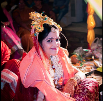 Bride during her wedding ceremony by Frames n Light Photography - Bishal Wedding-photography | Weddings Photos & Ideas