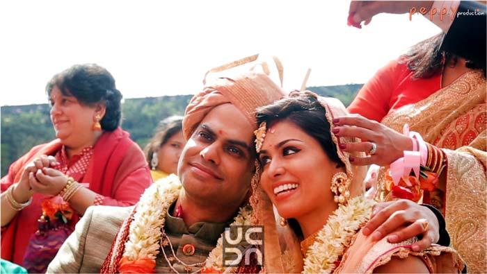 Elegant bride and groom portrait by Peppy Production Wedding-photography | Weddings Photos & Ideas