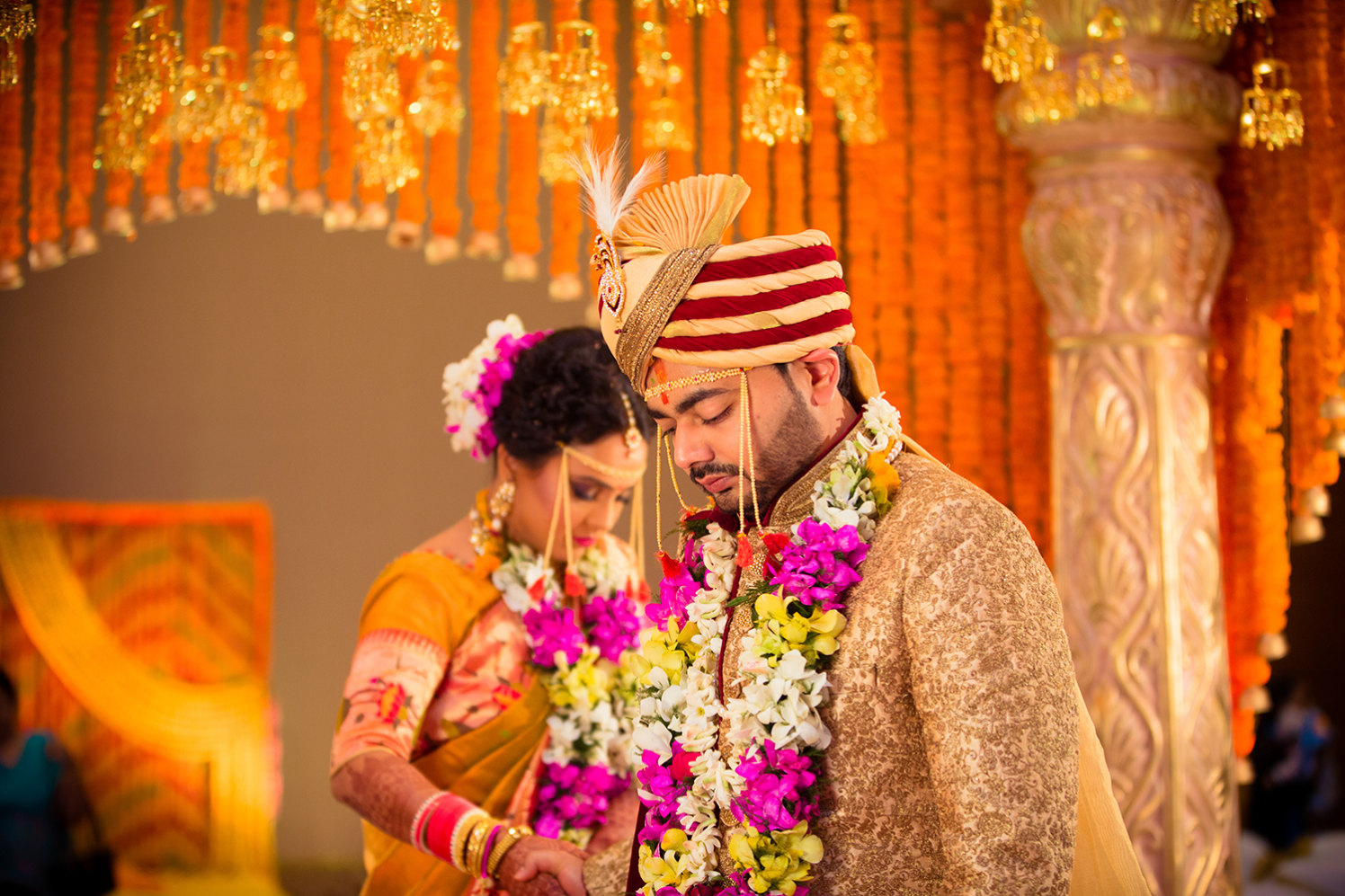 Marathi Bride and Groom Taking Pheras by Bosco Naveen Wedding-photography | Weddings Photos & Ideas