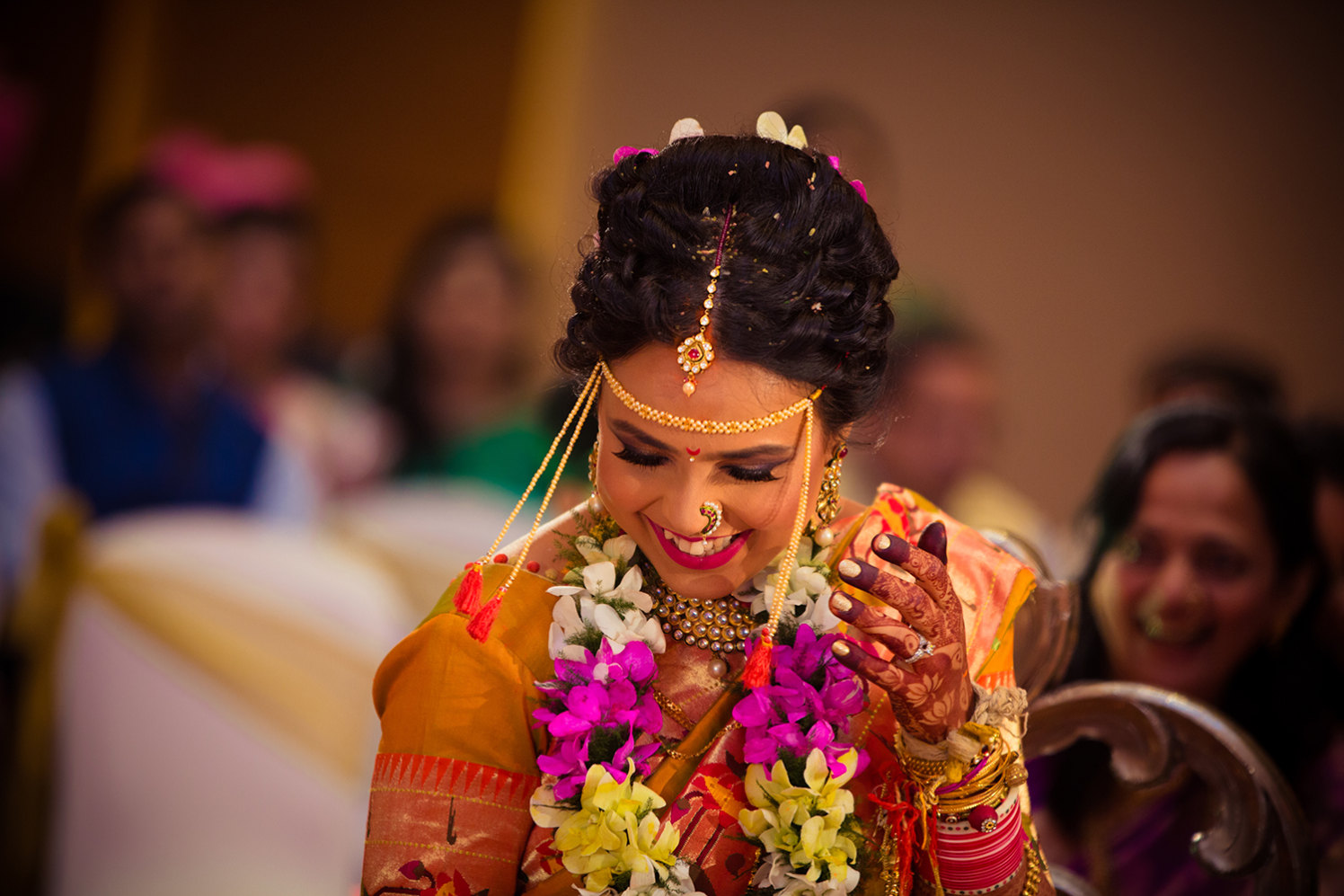 Marathi Bride Wearing Traditional Bridal Accessories by Bosco Naveen Wedding-photography | Weddings Photos & Ideas