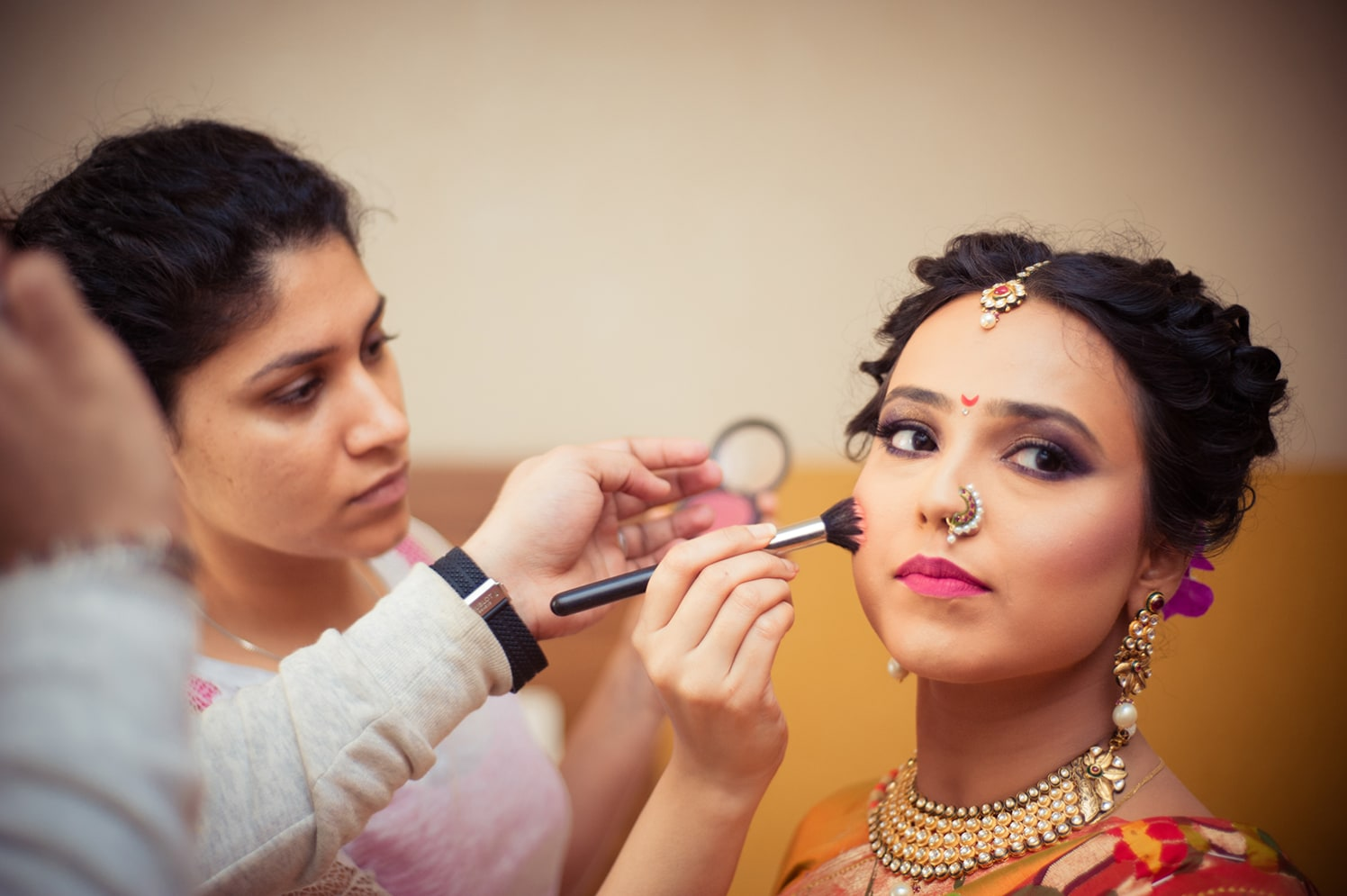 Bride Wearing Stunning Smokey Eye Makeup by Bosco Naveen Wedding-photography | Weddings Photos & Ideas