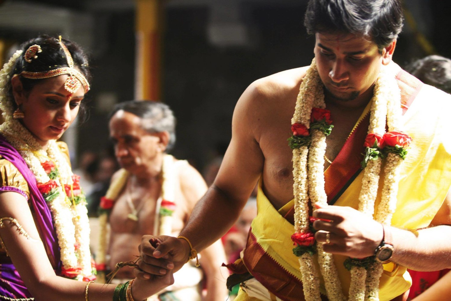 South Indian Wedding Special traditions by Bosco Naveen Wedding-photography Groom-wear-and-accessories | Weddings Photos & Ideas
