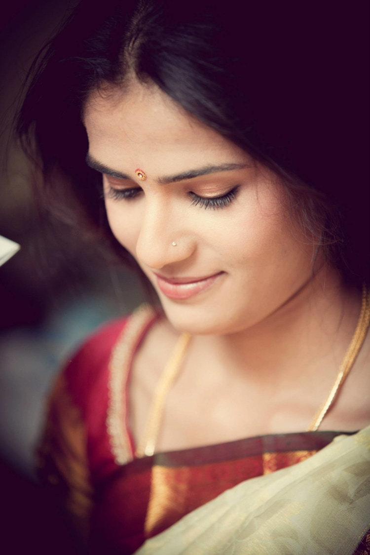 Bride Wearing Light and Natural Makeup by Bosco Naveen Bridal-makeup | Weddings Photos & Ideas
