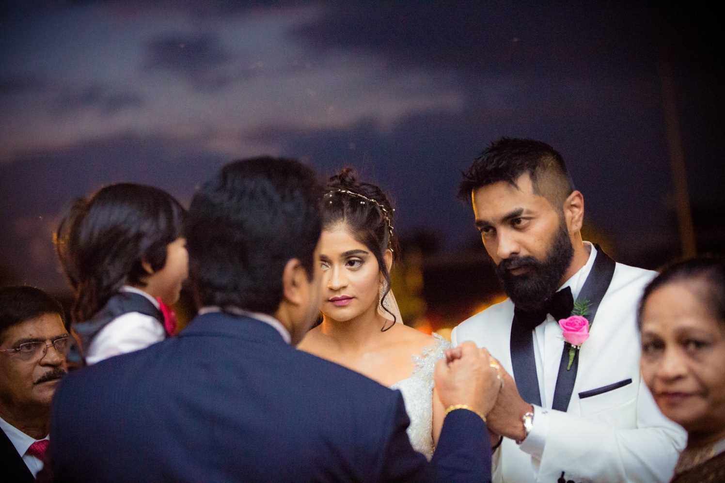 Candid Shot of Bride and Groom by Bosco Naveen Wedding-photography | Weddings Photos & Ideas