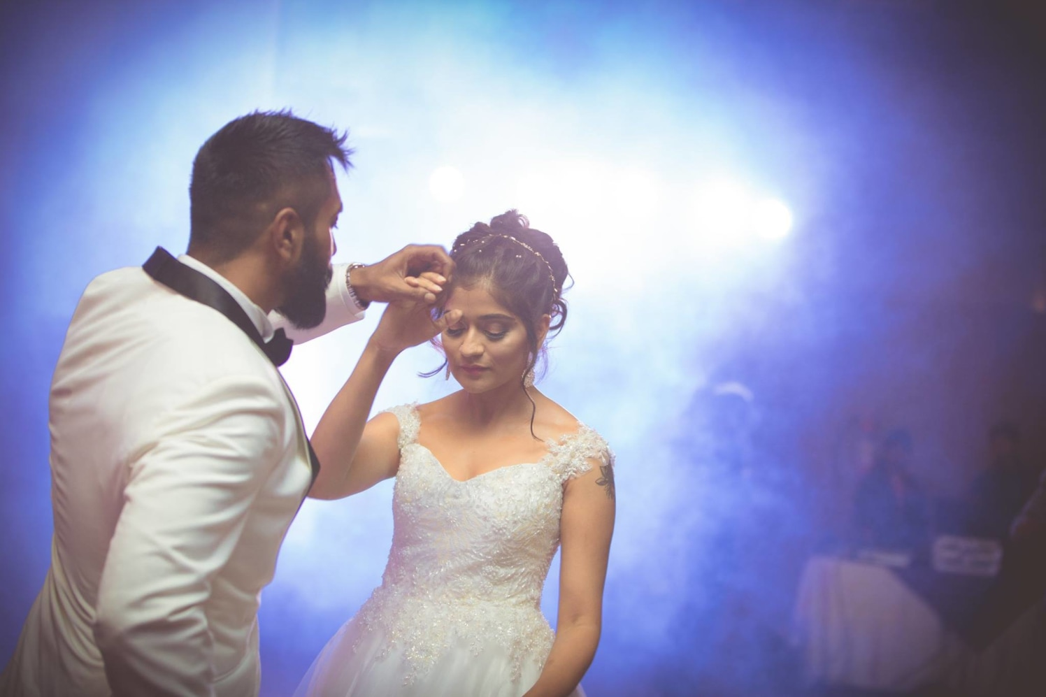 Bride and Groom Putting Up a Dance by Bosco Naveen Wedding-photography | Weddings Photos & Ideas