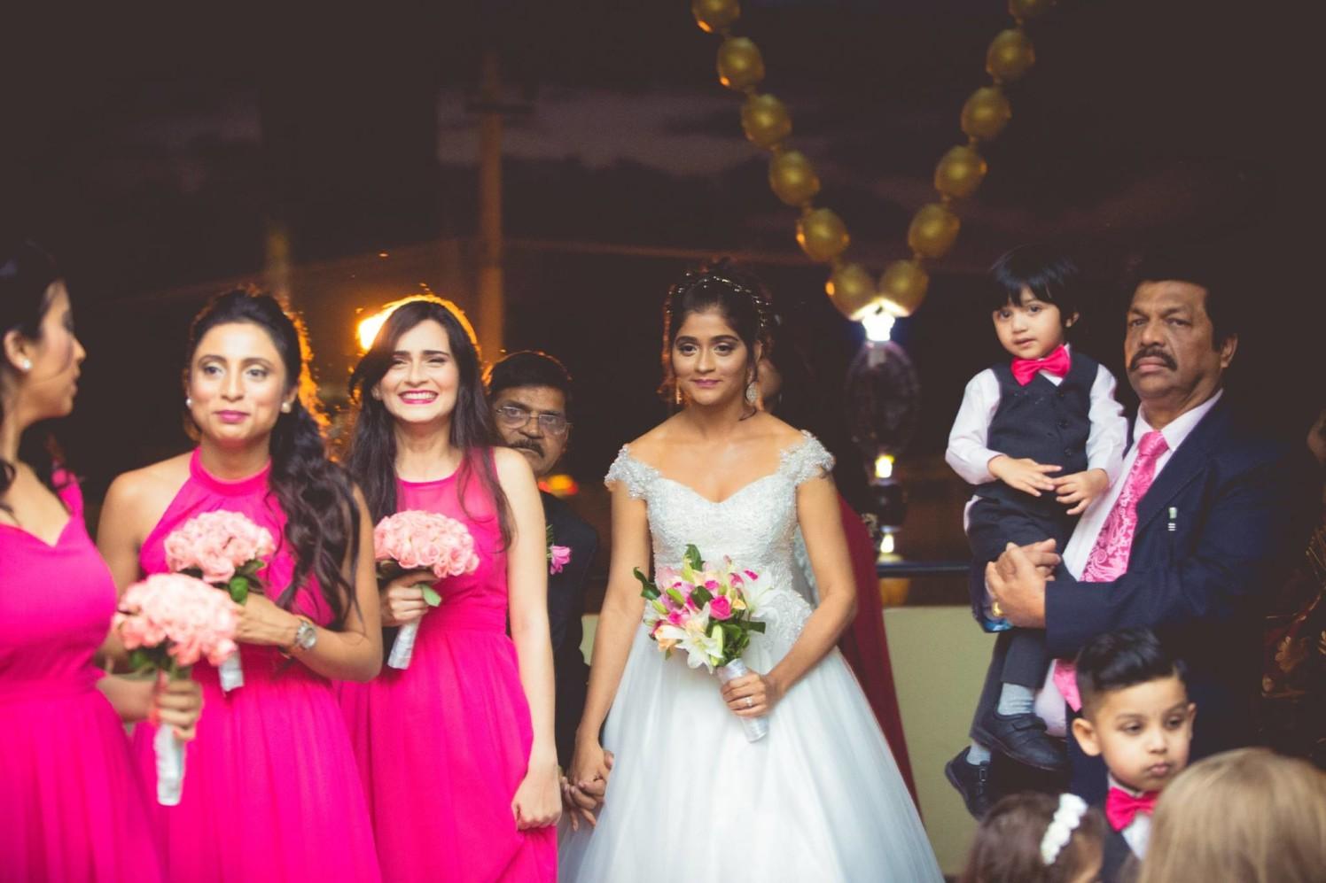 Graceful Entry of the Bride by Bosco Naveen Wedding-photography | Weddings Photos & Ideas