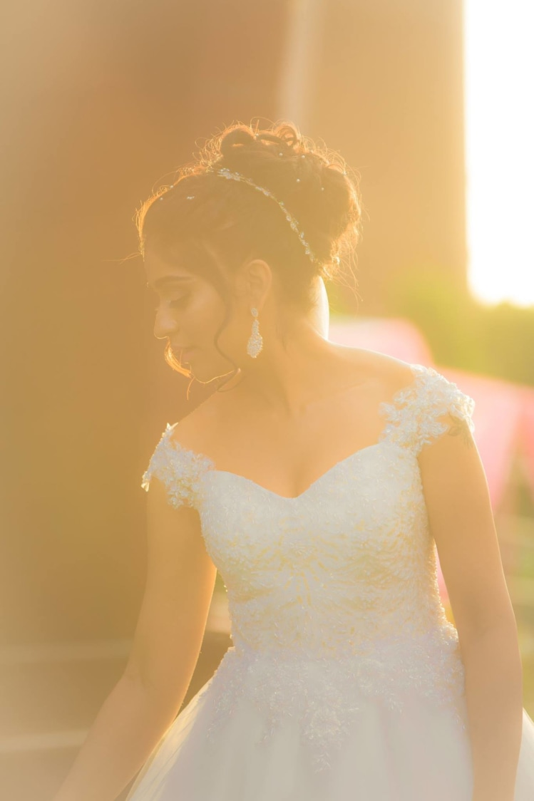 Bride Wearing White Off Shoulder Gown by Bosco Naveen Wedding-photography | Weddings Photos & Ideas