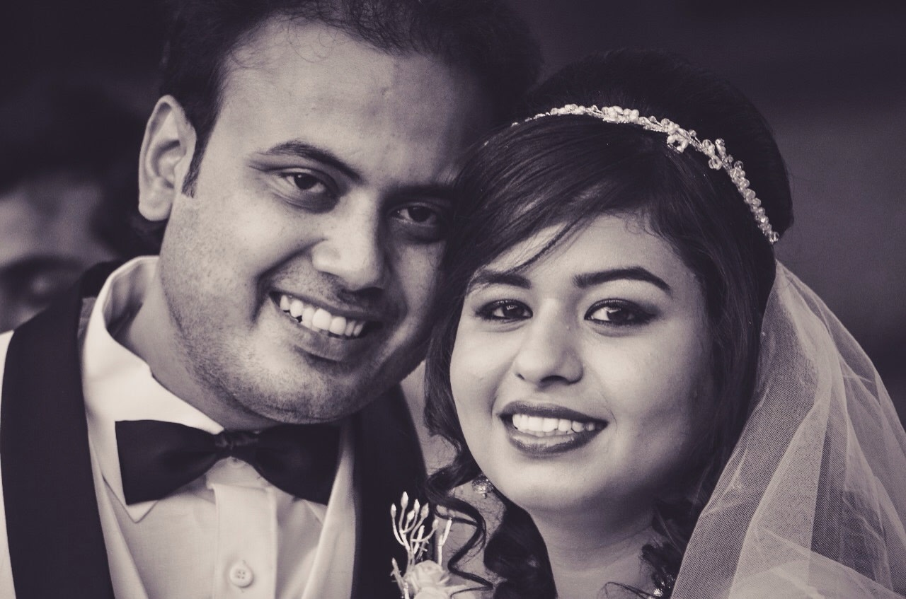 Beautiful bridal and groom portrait by Frame Fantasy Wedding-photography | Weddings Photos & Ideas