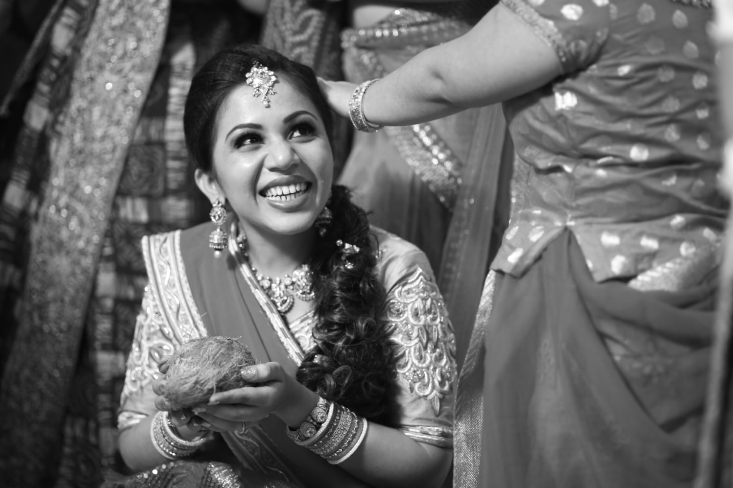 Candid happy bridal picture by Frame Fantasy Wedding-photography | Weddings Photos & Ideas