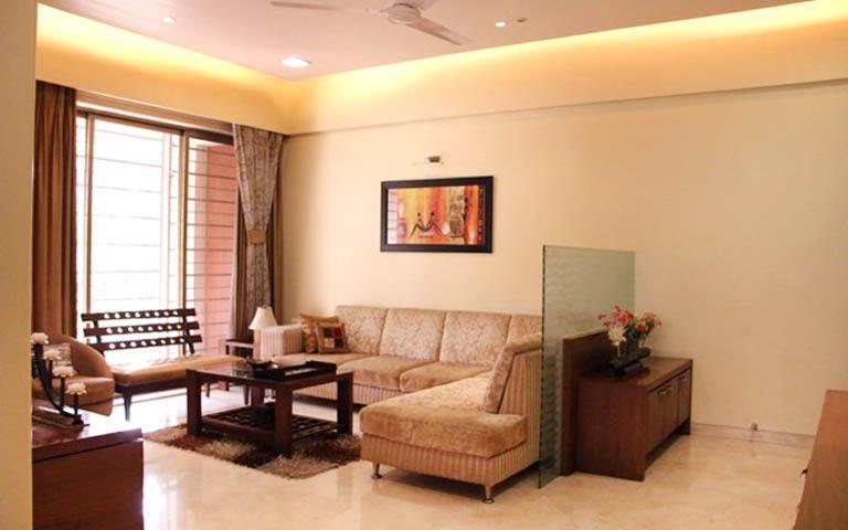 Luxurious living room decor by A to Z Designs Living-room Modern | Interior Design Photos & Ideas