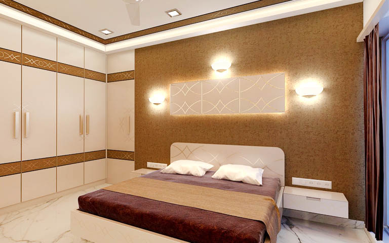 Luxurious master bedroom decor by CP ARCHITESIGN Bedroom Modern | Interior Design Photos & Ideas