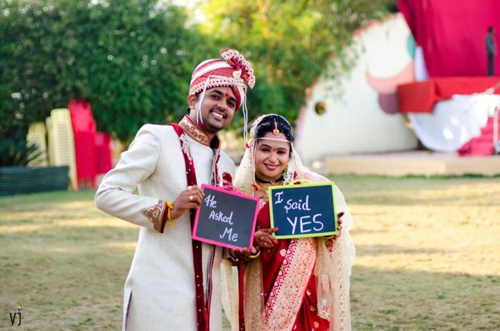 Fun bride and groom shoot during their wedding by VJ Photography Wedding-photography | Weddings Photos & Ideas