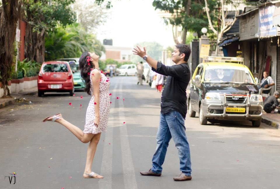 Fun pre-wedding shoot by VJ Photography Wedding-photography | Weddings Photos & Ideas