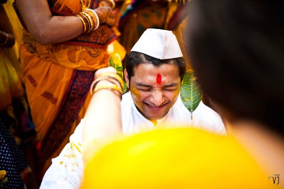 Groom Haldi Ceremony by VJ Photography Wedding-photography | Weddings Photos & Ideas