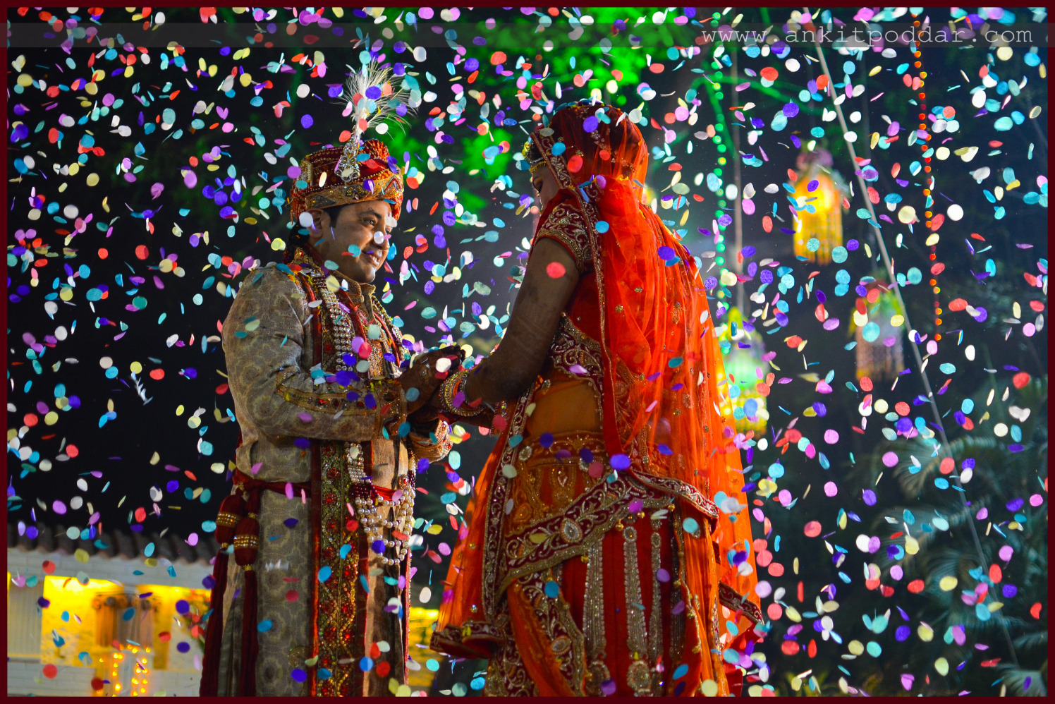 Showers Of Confetti Blessings by Ankit Poddar Wedding-photography | Weddings Photos & Ideas