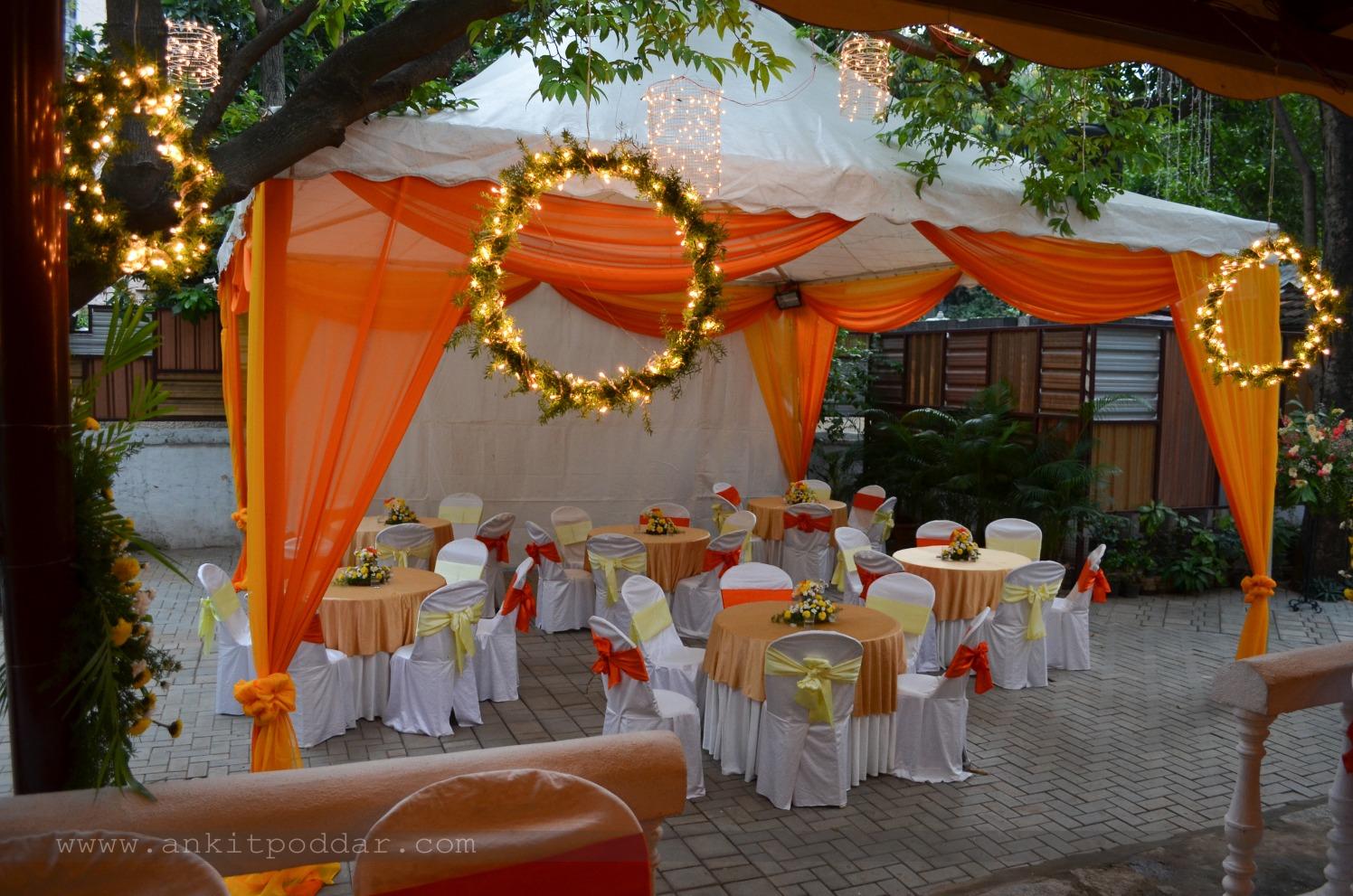 Paragon of Beauty With Fairy Light Wreath by Ankit Poddar Wedding-photography | Weddings Photos & Ideas