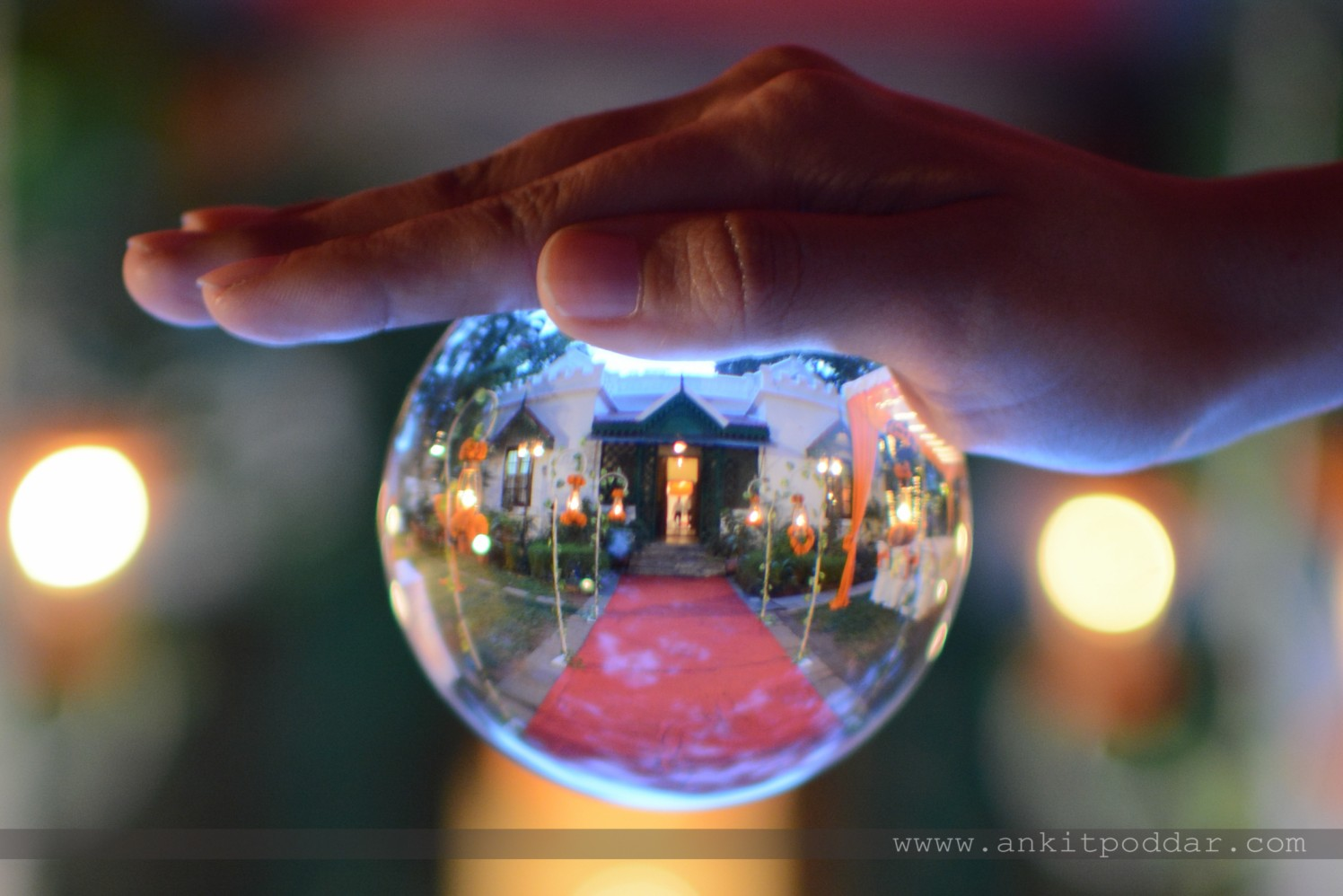 Inverted Wedding Decor Globe by Ankit Poddar Wedding-photography | Weddings Photos & Ideas